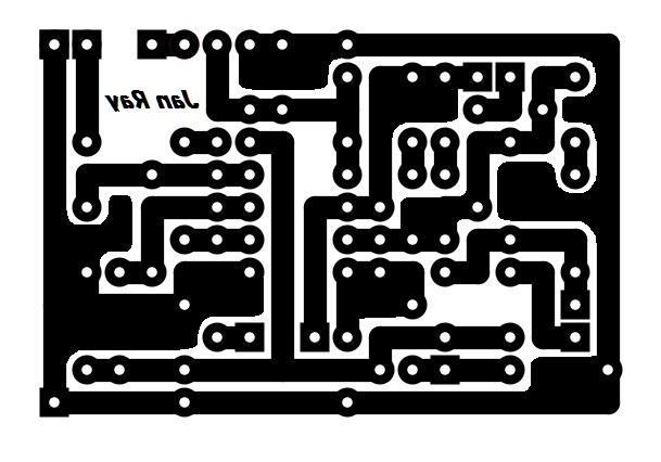 Janray自作pcb回路図