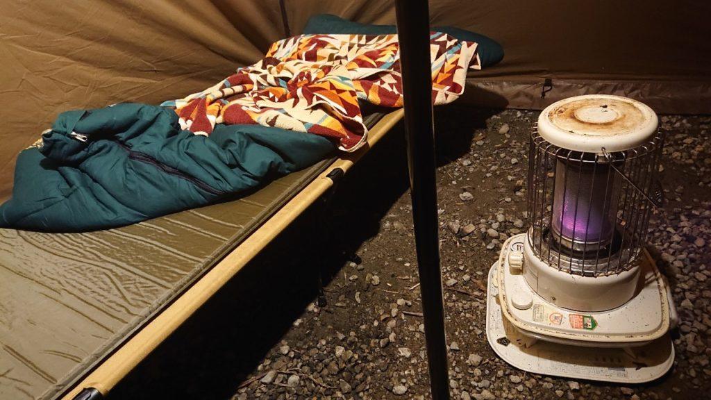 キャンプ シュラフ 寝袋 McKINLEY 封筒型 冬用